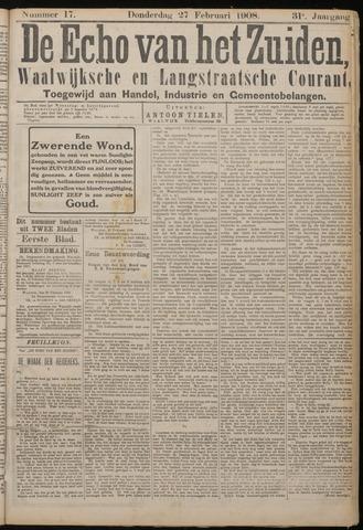 Echo van het Zuiden 1908-02-27