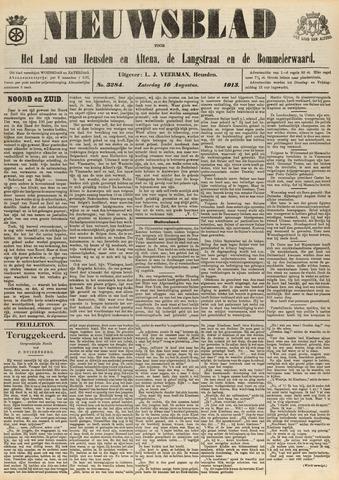 Nieuwsblad het land van Heusden en Altena de Langstraat en de Bommelerwaard 1913-08-16
