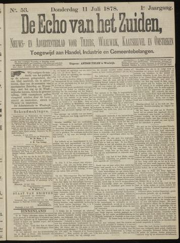 Echo van het Zuiden 1878-07-11