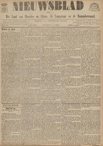 Nieuwsblad het land van Heusden en Altena de Langstraat en de Bommelerwaard 1897-08-07