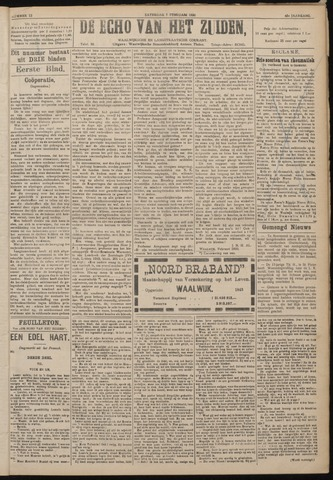 Echo van het Zuiden 1920-02-07