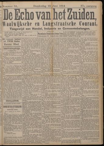 Echo van het Zuiden 1914-06-25
