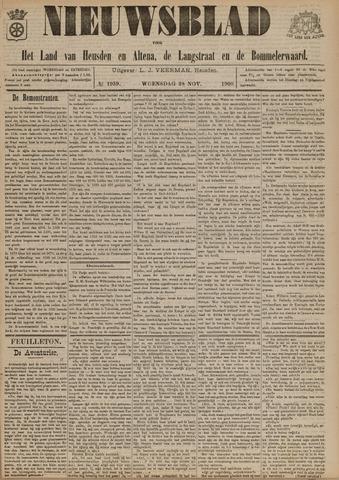 Nieuwsblad het land van Heusden en Altena de Langstraat en de Bommelerwaard 1900-11-28