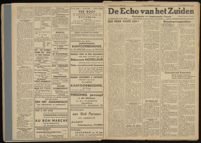 Echo van het Zuiden 1947-05-22