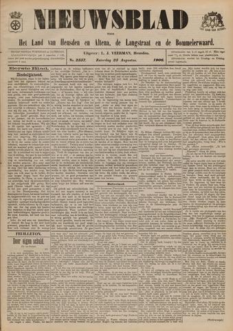 Nieuwsblad het land van Heusden en Altena de Langstraat en de Bommelerwaard 1906-08-25
