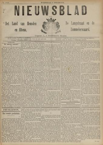 Nieuwsblad het land van Heusden en Altena de Langstraat en de Bommelerwaard 1891-12-09