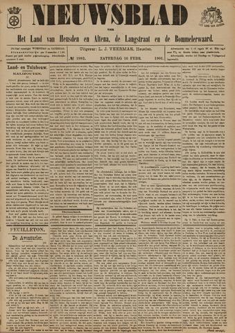 Nieuwsblad het land van Heusden en Altena de Langstraat en de Bommelerwaard 1901-02-16