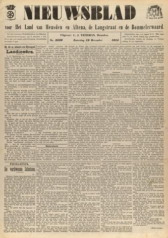 Nieuwsblad het land van Heusden en Altena de Langstraat en de Bommelerwaard 1915-12-19