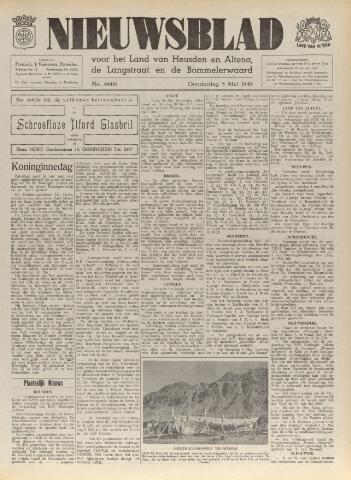 Nieuwsblad het land van Heusden en Altena de Langstraat en de Bommelerwaard 1949-05-05