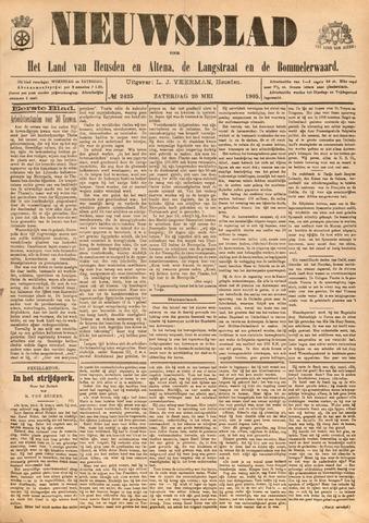 Nieuwsblad het land van Heusden en Altena de Langstraat en de Bommelerwaard 1905-05-20