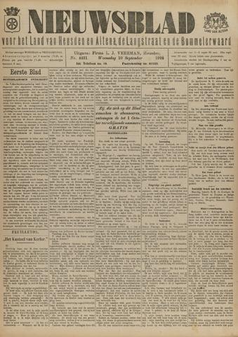 Nieuwsblad het land van Heusden en Altena de Langstraat en de Bommelerwaard 1924-09-10