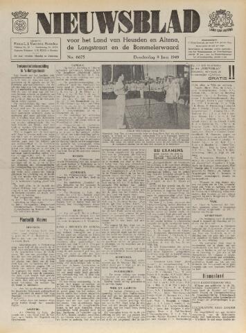 Nieuwsblad het land van Heusden en Altena de Langstraat en de Bommelerwaard 1949-06-09