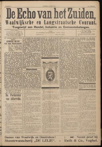 Echo van het Zuiden 1922-04-29