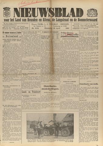 Nieuwsblad het land van Heusden en Altena de Langstraat en de Bommelerwaard 1941-04-23