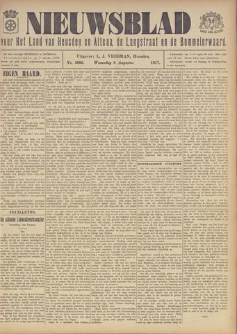 Nieuwsblad het land van Heusden en Altena de Langstraat en de Bommelerwaard 1917-08-08