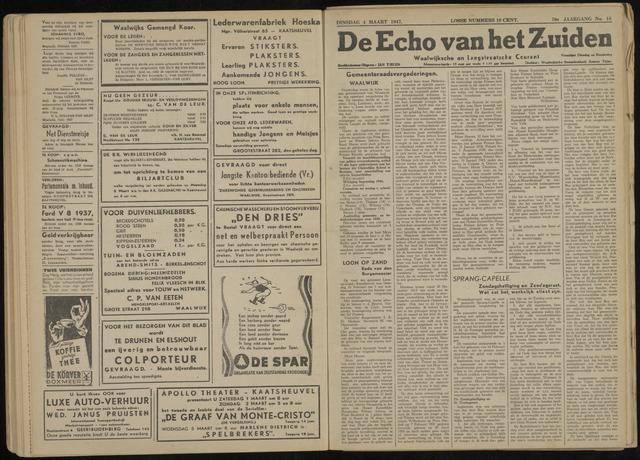 Echo van het Zuiden 1947-03-04