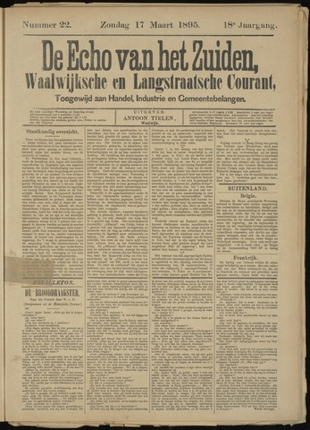 Echo van het Zuiden 1895-03-17