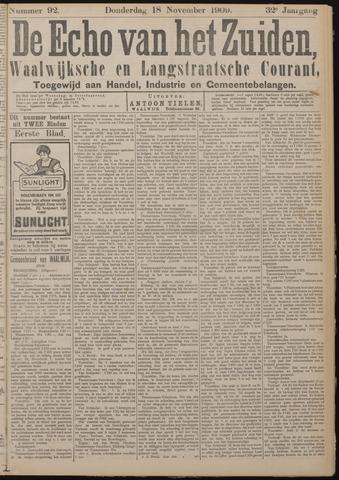 Echo van het Zuiden 1909-11-18