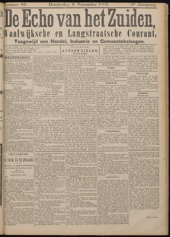 Echo van het Zuiden 1905-11-09
