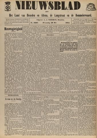 Nieuwsblad het land van Heusden en Altena de Langstraat en de Bommelerwaard 1915-05-26