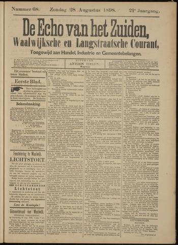 Echo van het Zuiden 1898-08-28