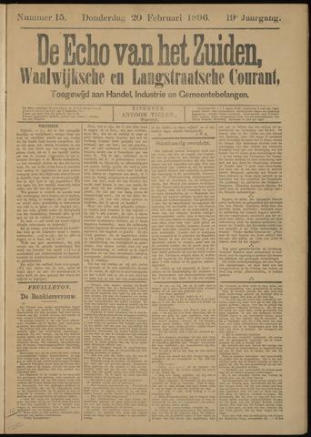 Echo van het Zuiden 1896-02-20