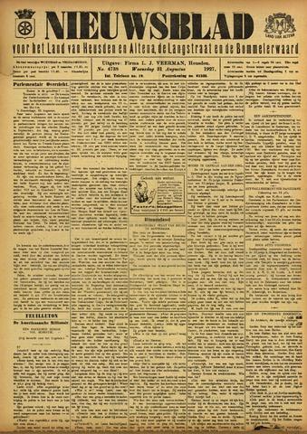Nieuwsblad het land van Heusden en Altena de Langstraat en de Bommelerwaard 1927-08-31