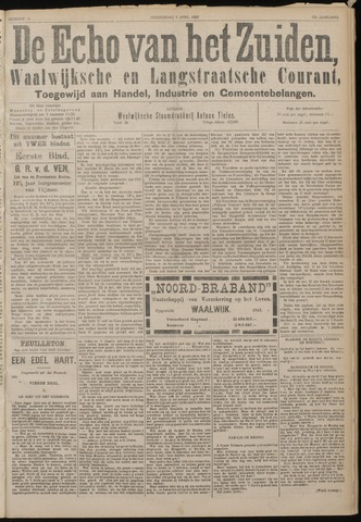 Echo van het Zuiden 1920-04-08