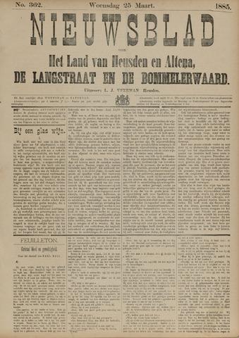 Nieuwsblad het land van Heusden en Altena de Langstraat en de Bommelerwaard 1885-03-25