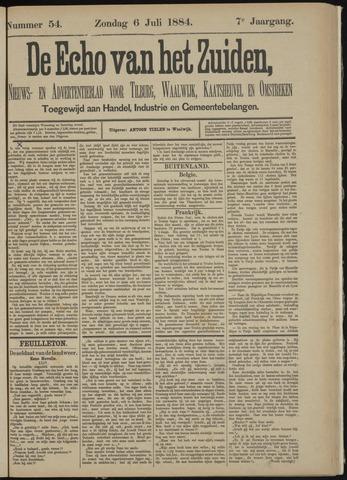 Echo van het Zuiden 1884-07-06