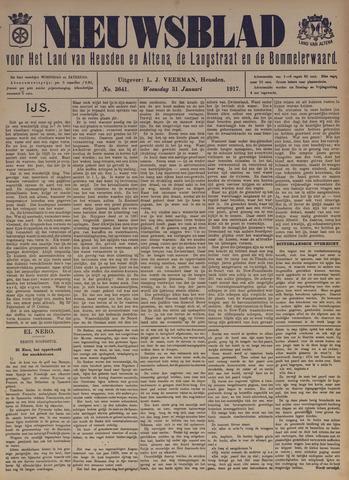 Nieuwsblad het land van Heusden en Altena de Langstraat en de Bommelerwaard 1917-01-31