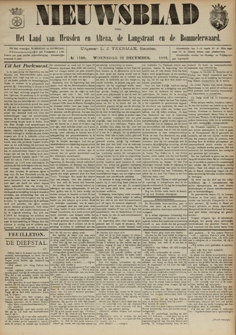 Nieuwsblad het land van Heusden en Altena de Langstraat en de Bommelerwaard 1892-12-21