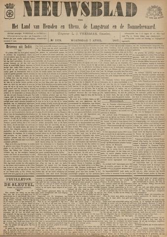 Nieuwsblad het land van Heusden en Altena de Langstraat en de Bommelerwaard 1897-04-07