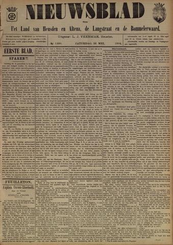 Nieuwsblad het land van Heusden en Altena de Langstraat en de Bommelerwaard 1894-05-26