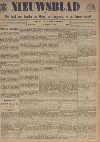 Nieuwsblad het land van Heusden en Altena de Langstraat en de Bommelerwaard 1908-07-01