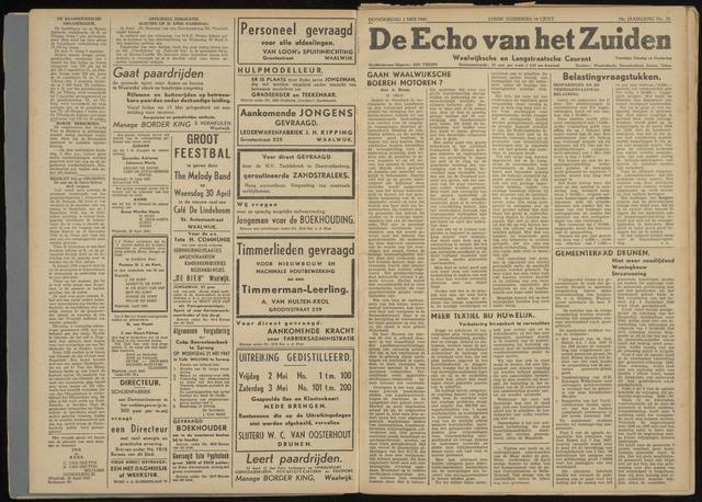 Echo van het Zuiden 1947-05-01
