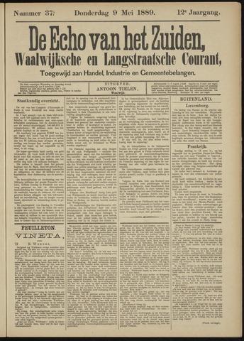 Echo van het Zuiden 1889-05-09