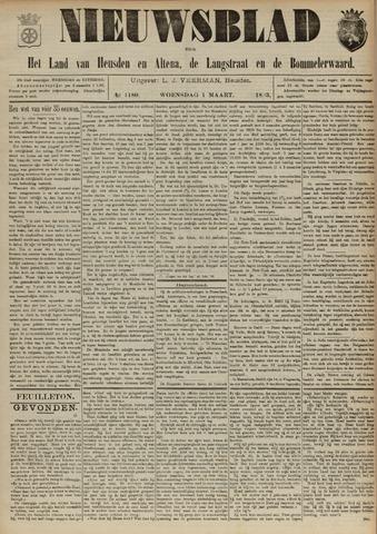 Nieuwsblad het land van Heusden en Altena de Langstraat en de Bommelerwaard 1893-03-01