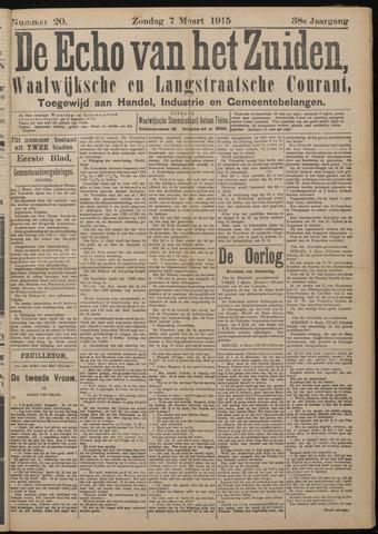 Echo van het Zuiden 1915-03-07