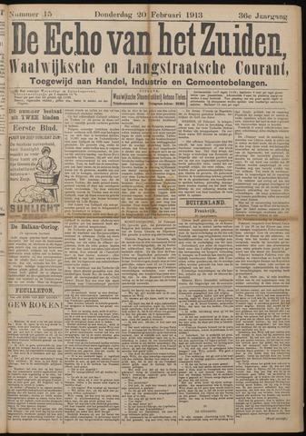 Echo van het Zuiden 1913-02-20