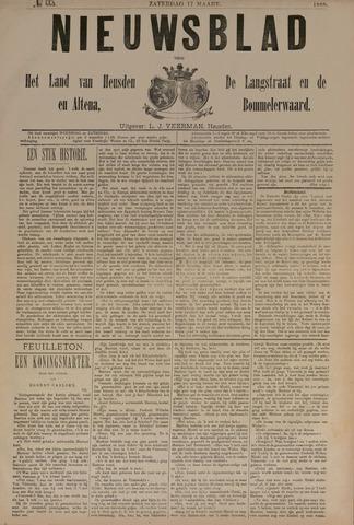 Nieuwsblad het land van Heusden en Altena de Langstraat en de Bommelerwaard 1888-03-17