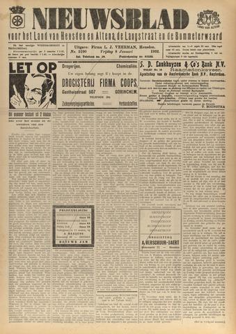 Nieuwsblad het land van Heusden en Altena de Langstraat en de Bommelerwaard 1932-01-08