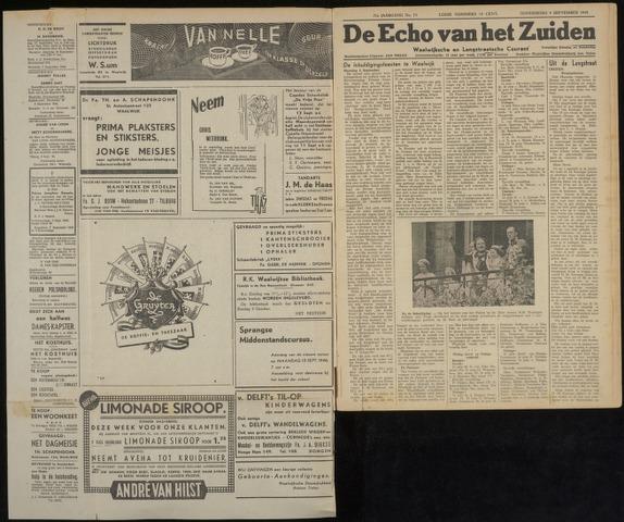 Echo van het Zuiden 1948-09-09