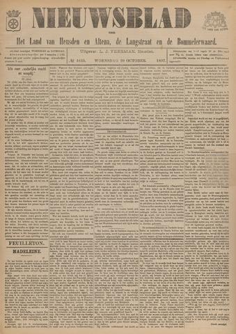 Nieuwsblad het land van Heusden en Altena de Langstraat en de Bommelerwaard 1897-10-20
