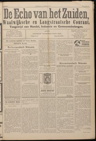 Echo van het Zuiden 1937-01-13