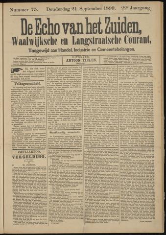 Echo van het Zuiden 1899-09-21