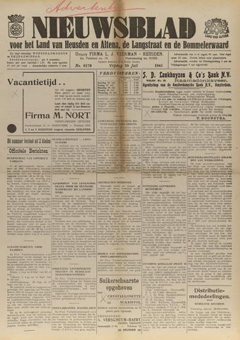Nieuwsblad het land van Heusden en Altena de Langstraat en de Bommelerwaard 1941-07-25