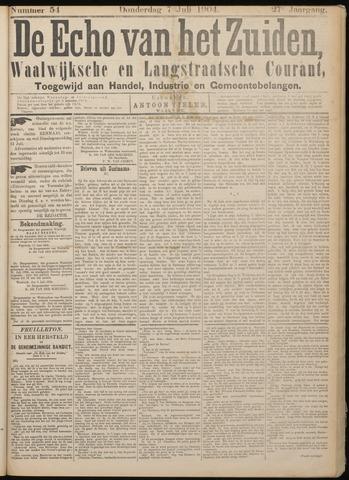 Echo van het Zuiden 1904-07-07