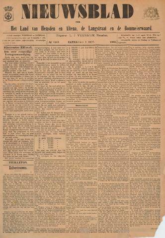 Nieuwsblad het land van Heusden en Altena de Langstraat en de Bommelerwaard 1905-10-07