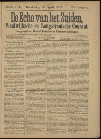 Echo van het Zuiden 1897-04-29